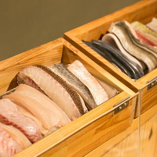 目利きが選んだ新鮮な鮮魚