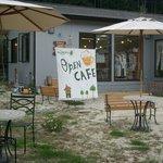 カフェ ビィエント - GARDEN  CAFE OPEN しています。ペット連れでもOK!