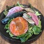 デリリウムカフェ SENDAI - 東北野菜のグリルサラダ