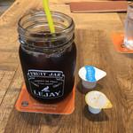 デリリウムカフェ SENDAI - 食後のアイスコーヒー