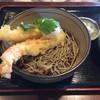 Teuchisobaishikura - 料理写真:大きなエビの冷やし/1600