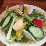 キャラウェイ - セットのサラダ
