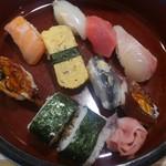 逹鮨 - 握りランチ