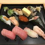 板前寿司 江戸 - 上にぎりセット