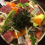 74138444 - ばら海鮮丼(1,000円)