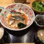赤坂あじさい - 銀さば煮込み定食