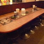 薩摩っ子ラーメン - ☆店内はテーブル席が大きめサイズでありました(^_-)-☆