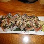 小石川 かとう - あじ押し寿司