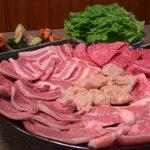 焼肉 じゅう兵衛 - 料理写真:デラックス盛り合わせ