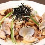 SQUARE MEALS みなもと - 人気の玄米パスタ☆あさりと長葱の和風☆