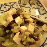 まんごや - ピータンと豆腐のサラダ