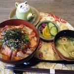 四季の蔵 食楽亭 - まかない海鮮漬丼@864