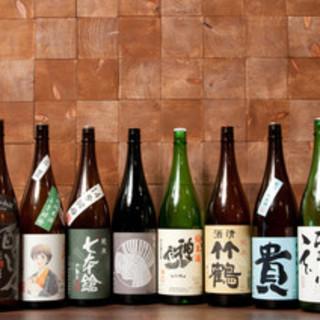 「それがし」で扱う日本酒は、原則として「純米酒」です。