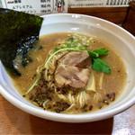 ら~めん ひの木 - 海老ロースト風醤油らーめん 700円  細麺