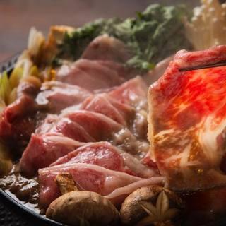 【食べるべき一品!】特選和牛リブロースのすき焼き★