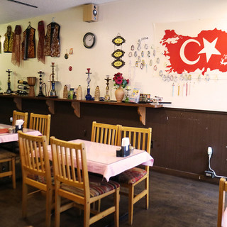 ★空間★トルコ料理で宴会、飲み会♪15名様~貸切もOK!