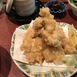 恋のしずく - サクサクジューシーな鶏の天ぷら〜〜♬