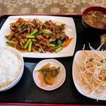 悦悦飯店 - 孜然羊肉定食¥880