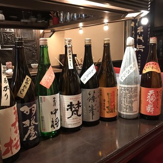 日本酒300~400種あります!