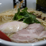 超純水採麺 天国屋 - 鶏白醤油麺
