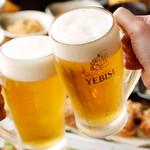 ウラニワ - キンキンに冷えたビールで乾杯!