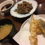 天ぷら ふそう  - 9月利用  鰯の糠炊き定食 1080円