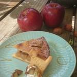 カフェ ミール バロック - 石窯アップルパイ マロングラッセ