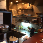 cucina Wada - 1階 キッチン。