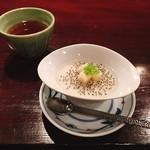 74157862 - 仁松庵 特別定食 税込@1,940円                       デザートの杏仁豆腐もおいしい!ココナッツミルクたっぷりに仕上げているそう。食感はツルツル。