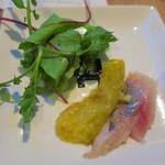 東京ビアホール&ビアテラス14 - 鮮魚のカルパッチョ