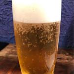 ダバ インディア - チキンティッカはビールのお供に