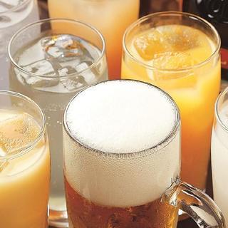 飲み放題は980円〜あり。飲み放題の種類の多さも自慢です!!