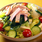 とり慎 - 箸休めにサッパリと豆腐サラダはいかが♪