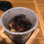 福の舞 - ふぐの香ばしさが移ったヒレ酒は、悶絶モン\(^o^)/
