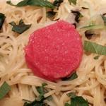 74160551 - 高菜明太と水菜の和風パスタ
