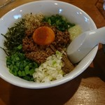 こなもん食堂 - 料理写真:台湾まぜそば800円
