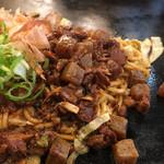 長田本庄軒 - ぼっかけ特盛は通常の3倍! 自分は愛知県から来ましたが ぼっかけ凄く気に入りました! どて煮より こっちの方がンマい!