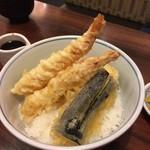 天ぷら ふそう  - おつれさまの天丼