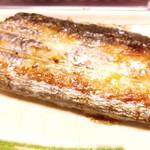 お多福 - 太刀魚の塩焼き