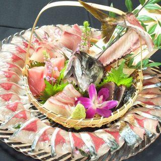 九州の旬魚を毎日仕入れて、毎日新鮮☆驚きのコスパでご提供!