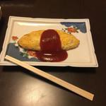 明石焼梅鉢 - チーズオムレツ・400円