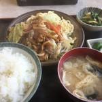 よこやま - ♪焼肉定食¥850
