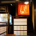 山商蕎麦店 - 今日初めて一階でお食事しました。