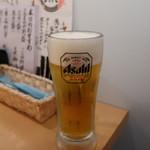 海鮮居酒屋 魚アツ - 生ビール