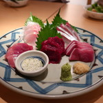 海鮮居酒屋 魚アツ - おまかせ刺盛五点盛