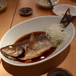海鮮居酒屋 魚アツ - 釣り伊佐木煮付け