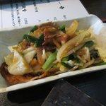 74168855 - 肉野菜炒め(欲張りランチ)2017.10.03