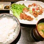 中屋 - チキン南蛮セット(980円)