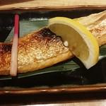 日本酒と肴 あらばしり - 鮭ハラス  680円