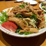 和みたむら - 豚生姜焼きサラダ
